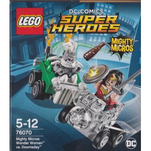 LEGO SUPER HEROES 76070 MIGHTY MICROS WONDER WOMAN VS DOOMSDAY
