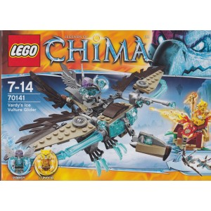LEGO LEGENDS OF CHIMA 70141 VARDY'S ICE VULTURE GLIDER