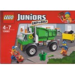 LEGO JUNIORS EASY TO BUILT 10680 GARBAGE TRUCK