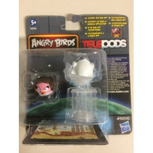 STAR WARS ANGRY BIRDS TELEPODS YODA - STORMTROOPER TELEPODS 2 FIGURES SET Hasbro A6058