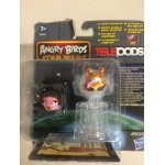 STAR WARS ANGRY BIRDS TELEPODS PRINCESS LEIA - JAR JAR BINKS 2 FIGURES SET Hasbro A6058