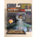 STAR WARS ANGRY BIRDS TELEPODS LUKE PILOT - MACE WINDU 2 FIGURES SET Hasbro A6058