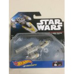 HOT WHEELS STAR WARS STARSHIP Y WING FIGHTER GOLDEN LEADER Mattel DXX54