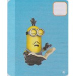 MEGA BLOKS FIGURE DESPECABLE ME - MINIONS SERIE 5 08 BOOKS OF POETRY