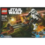LEGO STAR WARS 75532 SCOUT TROOPER & SPEEDER BIKE BUILDABLE FIGURE
