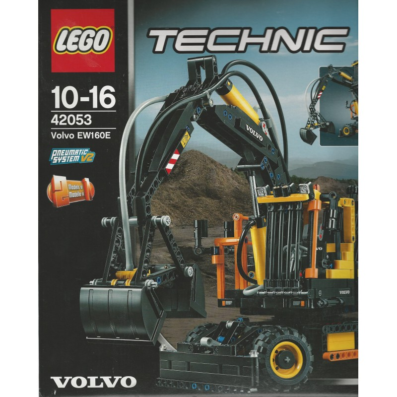 lego technic 42053 damaged box volvo ew160e aquarius. Black Bedroom Furniture Sets. Home Design Ideas