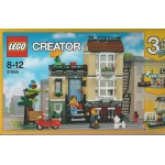 LEGO CREATOR 31065 damaged box PARK STREET TOWNHOUSE