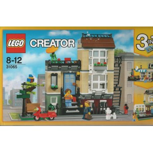 Lego Creator 31065 Damaged Box Park Street Townhouse Aquarius Age