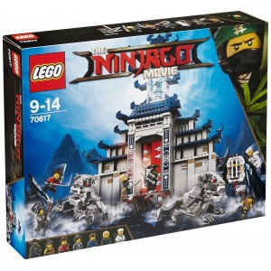 LEGO NINJAGO THE MOVIE 70617 TEMPLE OF THE ULTIMATE ULTIMATE WEAPON