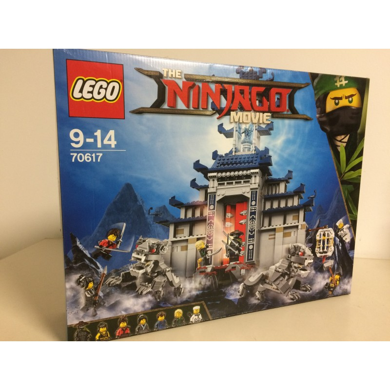 lego ninjago the movie 70617 temple of the ultimate