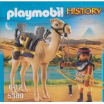 PLAYMOBIL HISTORY 5389 EGYPTIAN WARRIOR WITH CAMEL