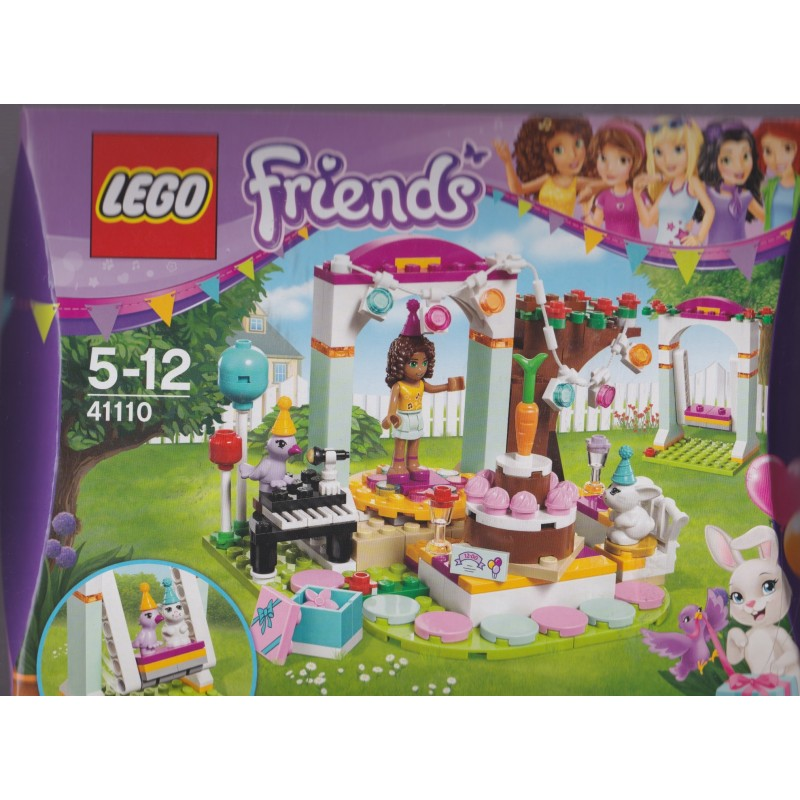 Peachy Lego Friends 41110 Birthday Party Aquarius Age Sagl Toys Personalised Birthday Cards Paralily Jamesorg