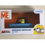 MINION VEHICLE BLUE CAR- DESPICABLE ME MONDO MOTORS
