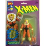 "MARVEL'S X MEN ACTION FIGURE 3.75"" - 9 CM SABRETOOTH TYCO 4939"