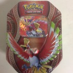 POKEMON trading card game TIN BOX HO - OH GX English cards
