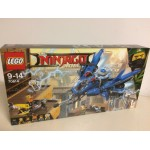 LEGO NINJAGO THE MOVIE 70614 JET FULMINE