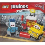 LEGO JUNIORS EASY TO BUILT CARS 3 10732 GUIDO E LUIGI PIT'S STOP