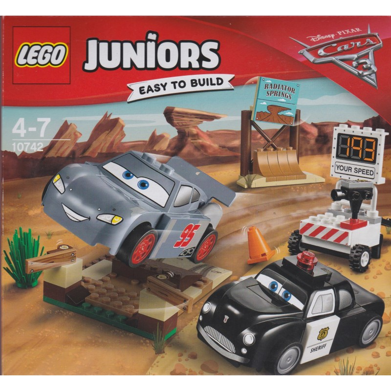 LEGO JUNIORS 10742 WILLY/'S BUTTE SPEED TRAINING BUILDING TOY 95PCS BRAND NEW