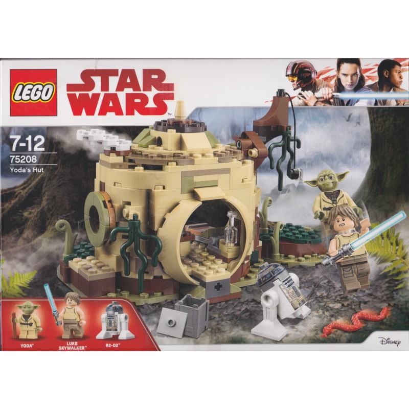 "229 Pieces LEGO Star Wars Yoda's Hut from /""The Empire Strikes Back/"""