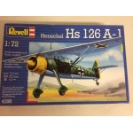 plastic model kit scale 1 : 72 REVELL 4398 HENSCHEL HS 126 A-1 new in open box