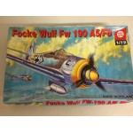 plastic model kit scale 1 : 72 PLASTYK FOCKE WULF FW 190 A5/F8 new in open & damaged box