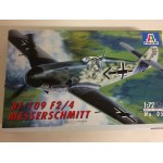 plastic model kit scale 1 : 72 ITALERI N° 053 MESSERSCHMITT BF 109 F2/4 new in open box