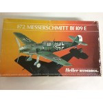 plastic model kit scale 1 : 72 HELLER HUMBOROL 80234 MESSERSCHMITT BF 109 E new in open & damaged box