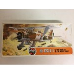 plastic model kit scale 1 : 72 AIRFIX 02051-4 HENSCHEL HS 123 A-1 new in open box