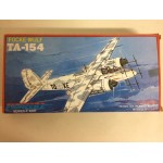 plastic model kit scale 1 : 72 PIONEER 2 FOCKE WULF TA- 154 new in open box