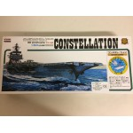 plastic model kit scale 1 : 800 IARII A117-1200 USS AIRCRAFT CARRIER CONSTELLATION new in open and damaged box