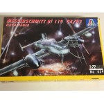 plastic model kit scale 1 : 72 ITALERI N° 039 MESSERSCHMITT BF 110 C4/ R3 NACHTJAGER new in open box