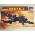 plastic model kit scale 1 : 72 ITALERI N° 105 DORNIER DO 217 K-1 new in open box
