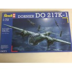 plastic model kit scale 1 : 72 REVELL 04371 DORNIER DO 217 K-1 new in open box without decals