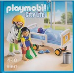 PLAYMOBIL CITY LIFE 6661 CHILDREN'S HOSPITAL DOCTOR WITH CHILD