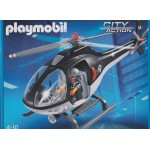 PLAYMOBIL CITY ACTION 5563 POLICE TACTICAL UNIT HELICOPTER