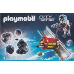 PLAYMOBIL CITY ACTION 6197 SATELLITE METEOROID LASER