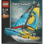 LEGO TECHNIC 42074 YACHT DA GARA 2 IN 1