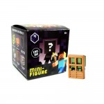 Minecraft 2.5 cm action figure Serie 4 ZOMBIE AT DOOR Single Mini Figure NEW in opened box