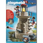 PLAYMOBIL PIRATES 6680 SOLDIERS' LOOKOUT WITH FLASHING BEACON LIGHT