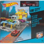 HOT WHEELS HW TRACK BUILDER PIT STOP STATION Mattel BGH96