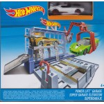 HOT WHEELS HW TRACK BUILDER POWER LIFT GARAGE Mattel BGH98 scatola differente