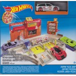 HOT WHEELS HW TRACK BUILDER POPPIN PIZZA SHOP Mattel DJD73