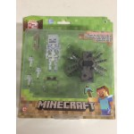 "Minecraft 3,5"" - 8 cm action figure Serie 2 SPIDER JOCKEY PACK Mojang 16451"
