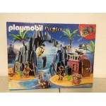 PLAYMOBIL PIRATES 6679 TREASURE ISLAND WITH LOCKABLE JAIL