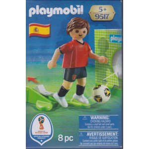 PLAYMOBIL 9517 FIFA WORLD CUP RUSSIA 2018 SPAIN NATIONAL TEAM PLAYER