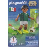 PLAYMOBIL 9515 FIFA WORLD CUP RUSSIA 2018 MEXICO NATIONAL TEAM PLAYER