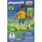 PLAYMOBIL 9510 FIFA WORLD CUP RUSSIA 2018 BRASIL NATIONAL TEAM PLAYER