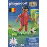 PLAYMOBIL 9509 FIFA WORLD CUP RUSSIA 2018 BELGIUM NATIONAL TEAM PLAYER