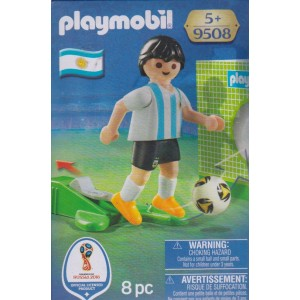 PLAYMOBIL 9508 FIFA WORLD CUP RUSSIA 2018 ARGENTINA NATIONAL TEAM PLAYER
