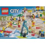 LEGO CITY 60153 DIVERTIMENTO IN SPIAGGIA - MINIFIGURES PACK